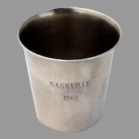 Nashville Shot Cup International Sterling Silver 1960s