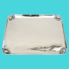 Georg Jensen Large Blossom Tray No 2D Sterling Silver