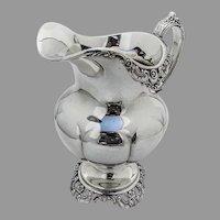 Wallace Grande Baroque Creamer Sterling Silver