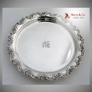 Gorham Coaster Sterling Silver 1900