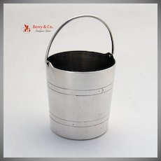 Sterling Silver Bucket Shreve and Co 1920