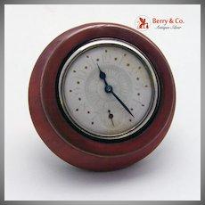 Desk Clock Copper Pat.1899 NY