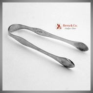 Sugar Tongs William Bateman I Sterling Silver 1814