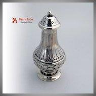 Sugar Shaker 800 Solid Silver Paoli Galileo 1960