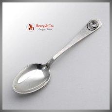 Century of Progress Souvenir Spoon Lebolt Handmade Sterling Silver