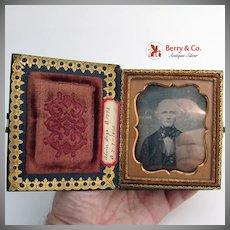 Daguerreotypes Cased Pair Identified Subjects 1855