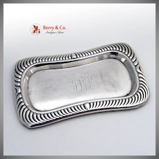 Pin Tray Gadroon Gorham Sterling Silver 1900