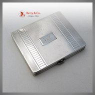 Tiffany & Co Art Deco Compact Sterling Silver