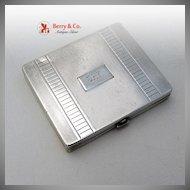 Tiffany & Co Art Deco Compact Sterling Silver