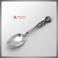 Catalina Island Souvenit Spoon Watson 1900 Sterling Silver