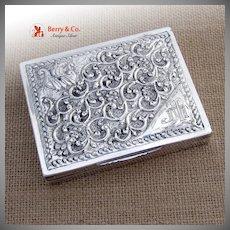 Viking Cigarette Case 800 Silver 1890