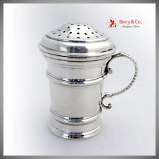 Sugar Caster Sterling Silver Georg Jensen 1700 Reproduction