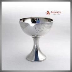 First Prize Chalice Goblet 800 Silver Sweden 1922