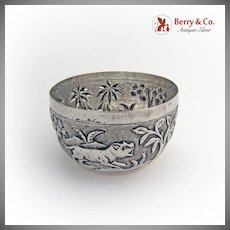 Figural Bowl Sterling Silver India