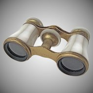 Opera Glasses Mother of Pearl 1890s