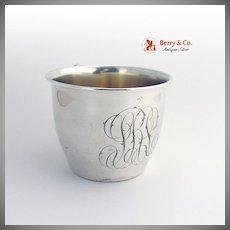 Cup Mug Sterling Silver Gilt International 1910