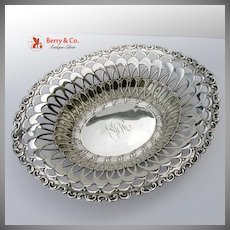 Louis XV Serving Bowl Sterling Silver Whiting 1891
