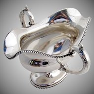 Gravy Boat Sterling Silver Frank Smith 1900