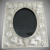 Picture Frame Sterling Silver Greece