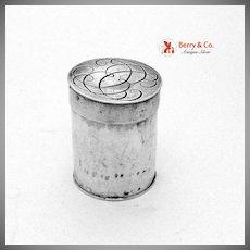 English Sterling Silver Box 17th Century