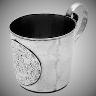 Small Cup 900 Silver Unusual