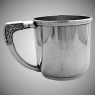 Mug Sterling Silver Gorham 1919 Berry Amp Company Antique