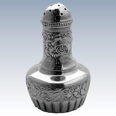 Sterling Silver Repousse Salt Shaker Gorham