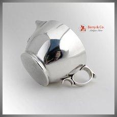 Sterling Silver Creamer Open Sugar Bowl Gorham