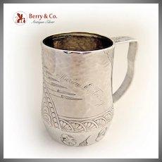 Etruscan Homeric Medallion Shiebler Cup Sterling Silver