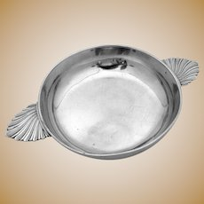 Swiss Two Handled Serving Bowl 1850 800 Silver