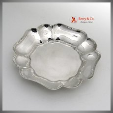 Retro Serving Bowl S. Kirk and Son 1940 Sterling Silver