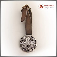 Sherwood Music School Luggage Tag Sterling Silver