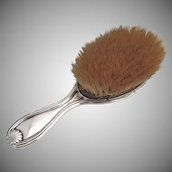 Shell Clothes Brush Dutch 800 Standard Silver