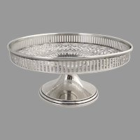 Tiffany Open Work Compote 1970 Sterling Silver