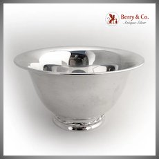 Serving Revere Bowl 1930 Towle Sterling Silver
