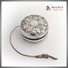 Art Deco Yo-Yo Toy Gorham Sterling Silver