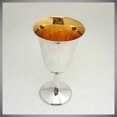 Frank Whiting Water Goblet Sterling Silver 63 1950