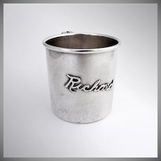 Baby Cup Sterling Silver 1920