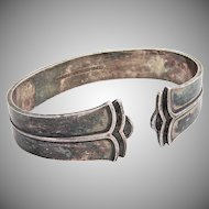 Sparta Napkin Ring Sterling Silver Cohr