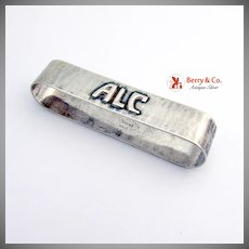 Arts And Crafts Oval Napkin Ring Sterling Silver Kalo 1930