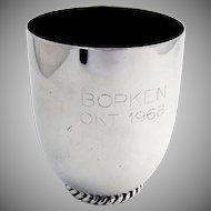 German Beaker Cup 835 Silver Wilkens 1968