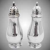 Sterling Silver Salt and Pepper Shakers Towle