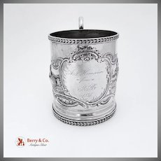 Coin Silver Farming Women Cup 1875 Ball Black and Company