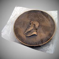 Rare George F Robinson Medal Bronze US Mint 1900