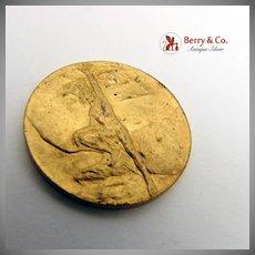 Pan American Exposition Medal Gilt Bronze CAR 1901