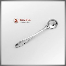 Lyric Salt Spoon Brooch Pin Sterling SIlver Gorham 1940