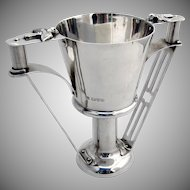 Arts And Crafts Twin Handle Trophy Cup Sterling Silver George Nathan Ridley Hayes 1910