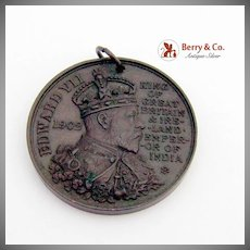 Edward VII Coronation Medal Borough Of Cambridge Bronze 1902