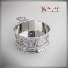 Nursery Rhyme Large Porringer Sterling Silver William B Kerr 1943