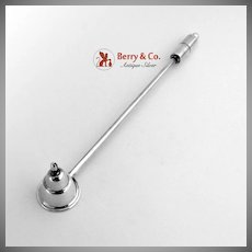 Candle Snuffer Lighter Sterling Silver 1940